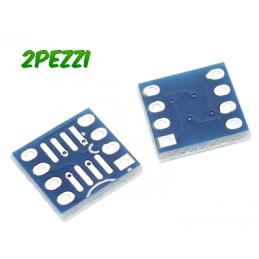 2 pz Adattatore SOIC8 8 pin...