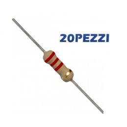20 Pezzi Resistenza 2,2...