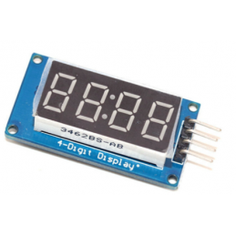 Modulo TM1637 display 4...