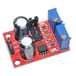 NE555 Generatore di impulsi...